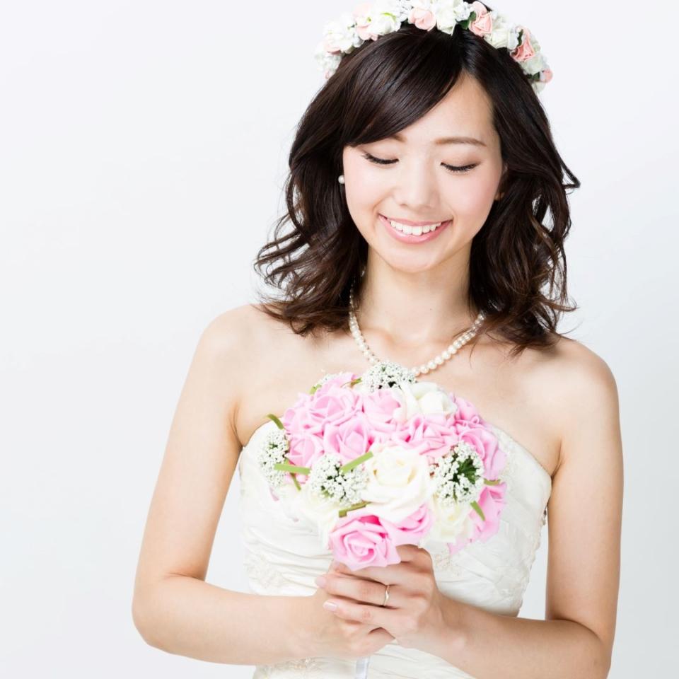 結婚式でのまつエクデザイン例 かわいい系