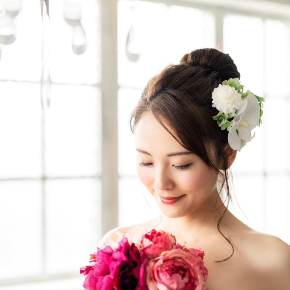 結婚式でのまつエクデザイン例 きれい系